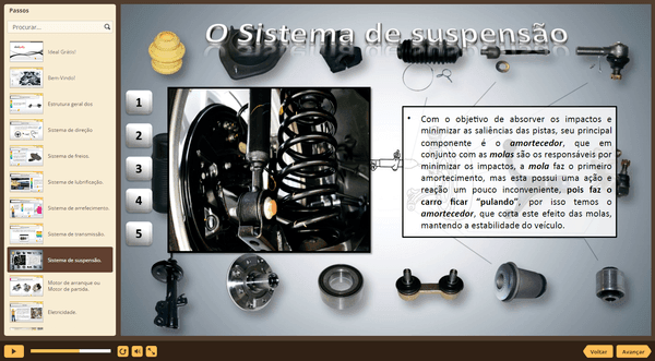 PrintScreen do curso gratuito Mecânica Automotiva Básica